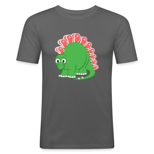 Steakosaurus (T-Shirt Slim) - Männer Slim Fit T-Shirt