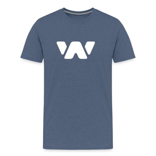 Webbundels T WhiteW - Mannen Premium T-shirt