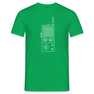 Funkgerät Walkie-Talkie - Männer T-Shirt