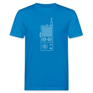Funkgerät Walkie-Talkie - Männer Bio-T-Shirt