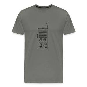 Funkgerät Walkie-Talkie - Männer Premium T-Shirt