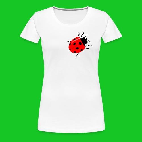 Lieveheersbeestje dames t-shirt - Vrouwen Premium T-shirt