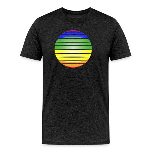 Shirt-Kugel-quer - Männer Premium T-Shirt
