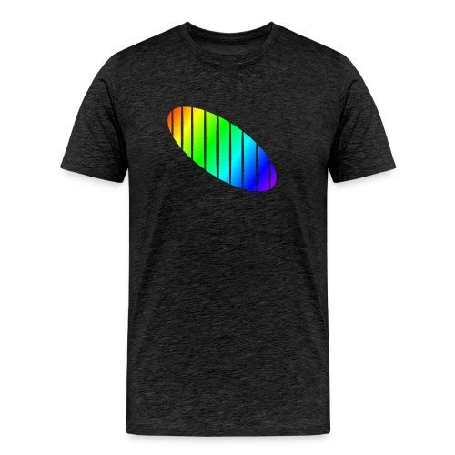Shirt-Elypse-senkrecht - Männer Premium T-Shirt