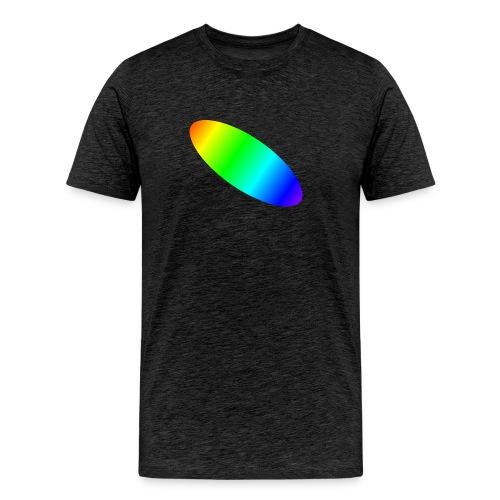 Shirt-Elypse-geschl - Männer Premium T-Shirt