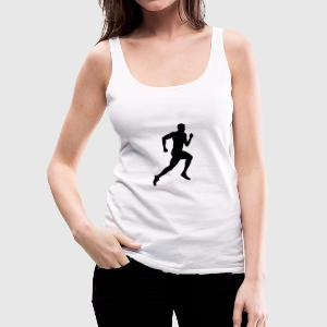 Läufer, Laufen, Running (super cheap!) Tops - Frauen Premium Tank Top