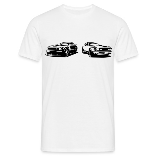 2 Ponies - Men's T-Shirt