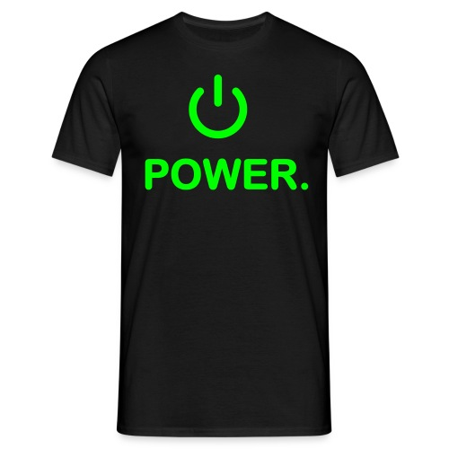 T-shirt power Grand - T-shirt Homme