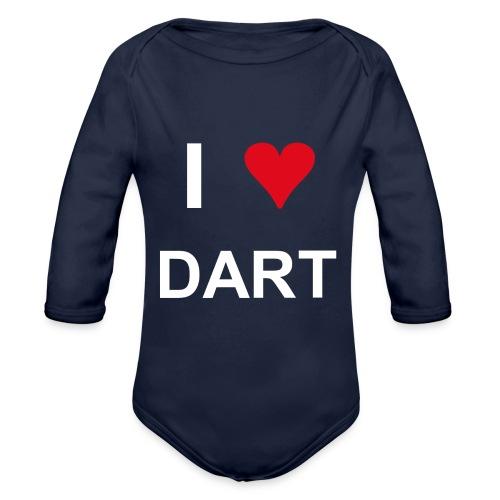 I love dart - Baby Bio-Langarm-Body
