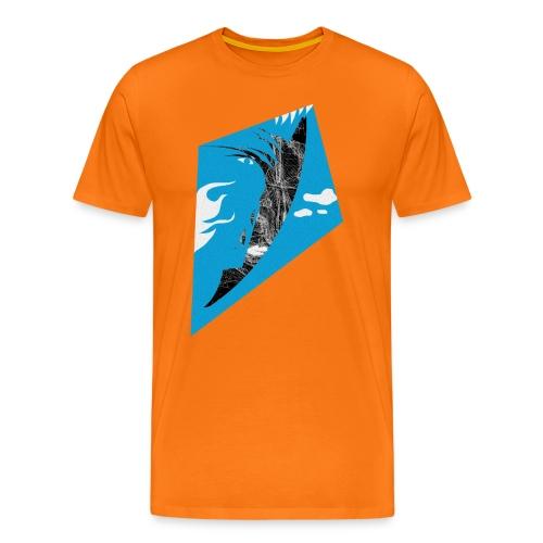 Fliegender Fisch/Vogel/Drachen - Männer Premium T-Shirt