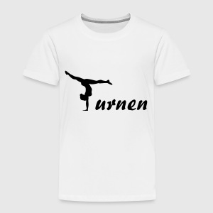 Turnen, Turnerin (super cheap design) T-Shirts - Kinder Premium T-Shirt