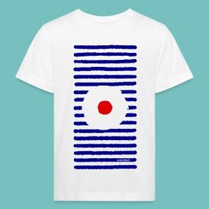 T-shirt Bio Enfant Marinière A - T-shirt bio Enfant