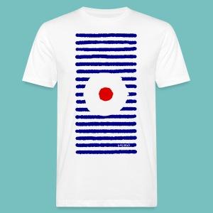 T-shirt Bio Homme Marinière A - T-shirt bio Homme