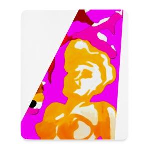 Akt abstrakt - Mousepad (Hochformat)