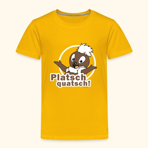Kinder Premium T-Shirt Pittiplatsch Platschquatsch 2-f - Kinder Premium T-Shirt