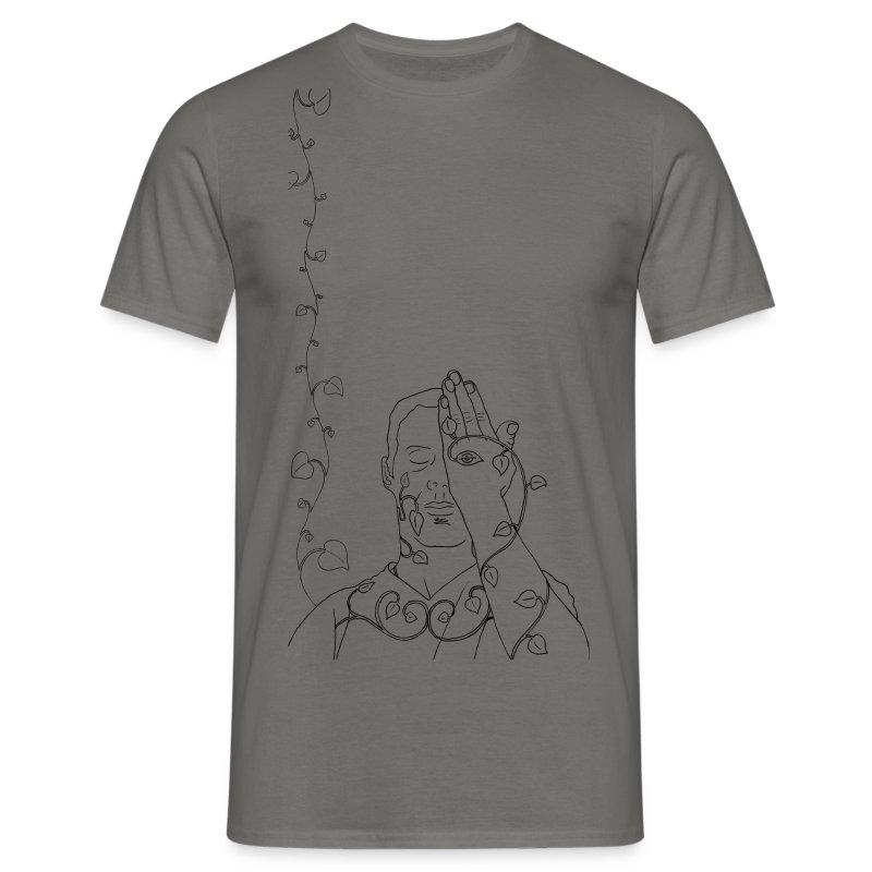 Introspective Green Man - Men's T-Shirt
