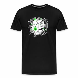Digital Skull V2 - T-Shirt - Männer Premium T-Shirt