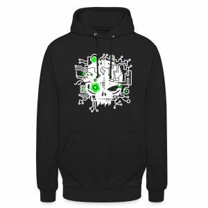 Digital Skull V2 - Hoodie - Unisex Hoodie