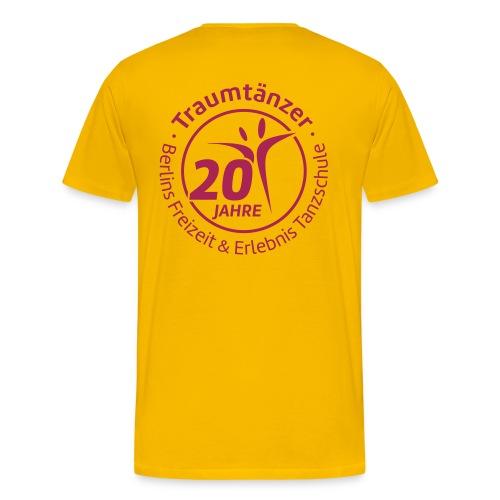 T-Shirt Traumtänzer 20 Jahre - Männer Premium T-Shirt