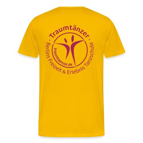 T-Shirt Traumtänzer Siegel - Männer Premium T-Shirt