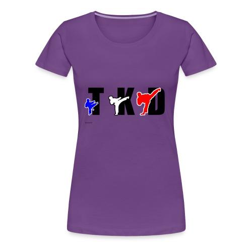 T-SHIRT FEMME - TKD - T-shirt Premium Femme