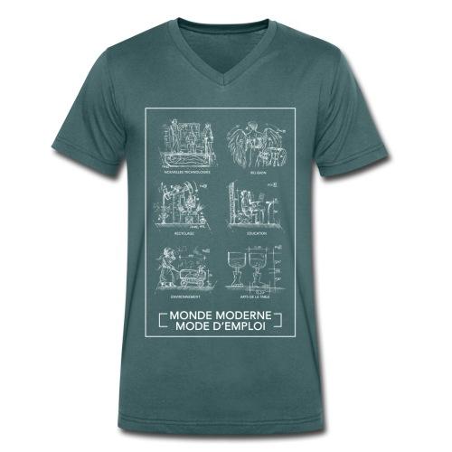 Monde Moderne - T-shirt bio col V Stanley & Stella Homme