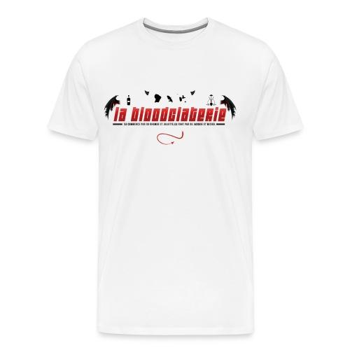 LA BLOODCLATERIE : SK0WP - T-shirt Premium Homme