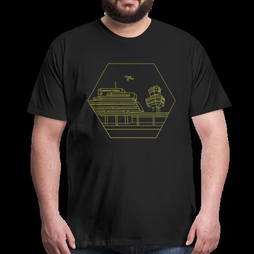 Flughafen Tegel in Berlin - Männer Premium T-Shirt