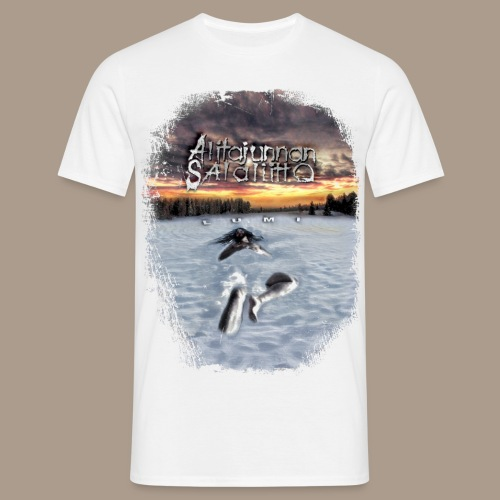 Alitajunnan Salaliitto - Lumivalkoinen - Miesten t-paita