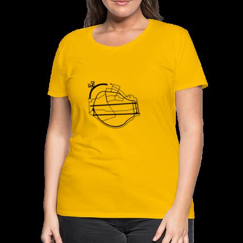 Tempelhofer Feld Berlin - Frauen Premium T-Shirt
