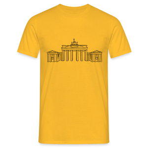 Brandenburger Tor Berlin - Männer T-Shirt