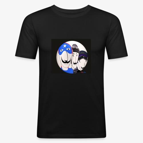 Les Inconnus - T-shirt près du corps Homme