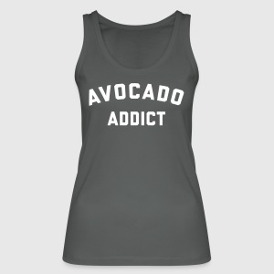 Avocado Addict Funny Quote Tops - Vrouwen bio tank top