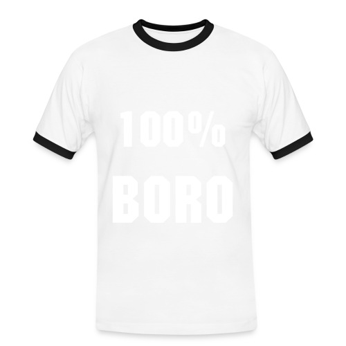 Men's 100% BORO T-Shirt  - Men's Ringer Shirt