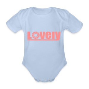 Baby One-piece Lovely - Organic Short-sleeved Baby Bodysuit