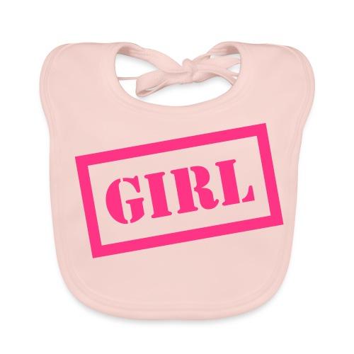 Baby Bib Girl - Baby Organic Bib