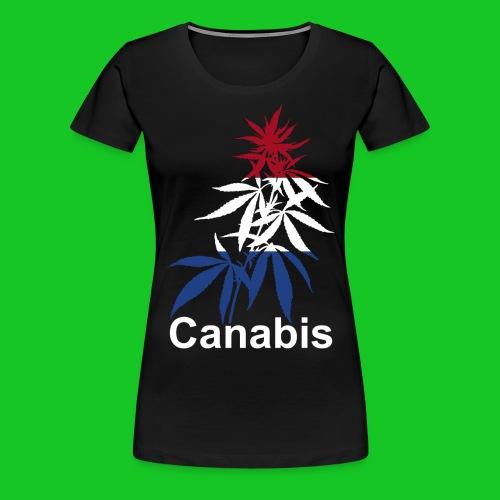 Canabis plant Holland dames t-shirt - Vrouwen Premium T-shirt