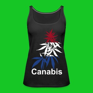 Canabis plant, Canabis Holland dames tank top - Vrouwen Premium tank top