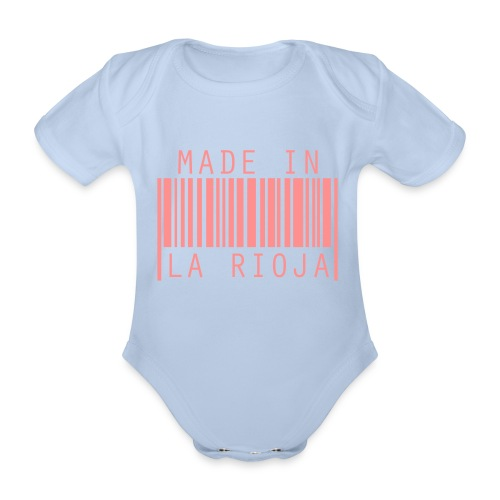 Made in La Rioja - Body orgánico de maga corta para bebé