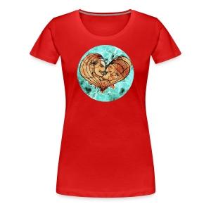 Liebesgewitter - Frauen Premium T-Shirt