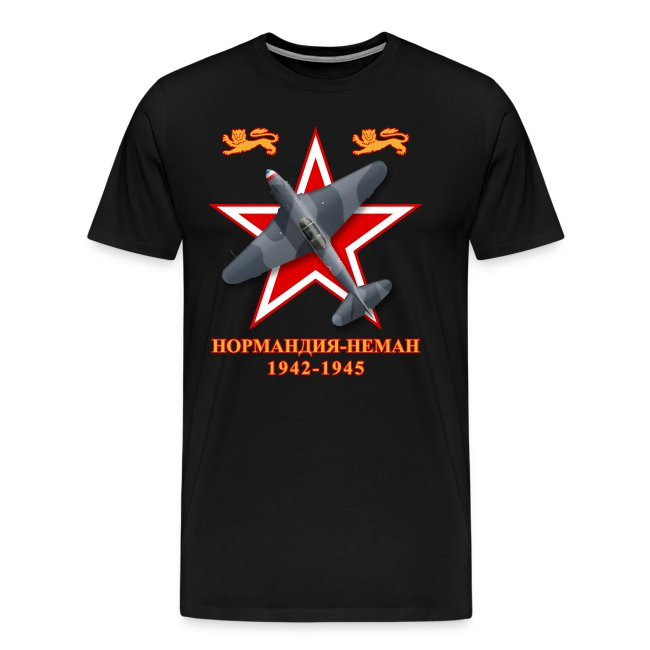 Yak-3 Normandie-Niémen - Man's T-Shirt