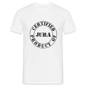 Certified Jura Big Black TSH B&C - T-shirt Homme