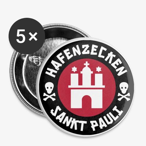 Pins im 5er Pack - Buttons klein 25 mm