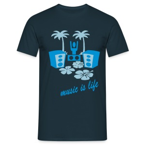 DJ BEACH - T-shirt Homme