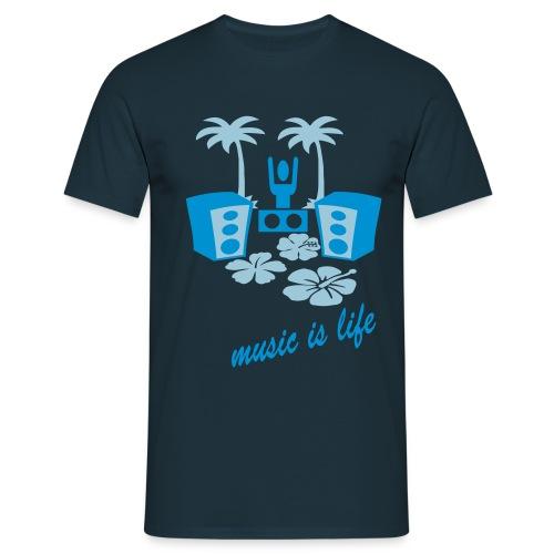 DJ BEACH - T-shirt Homme
