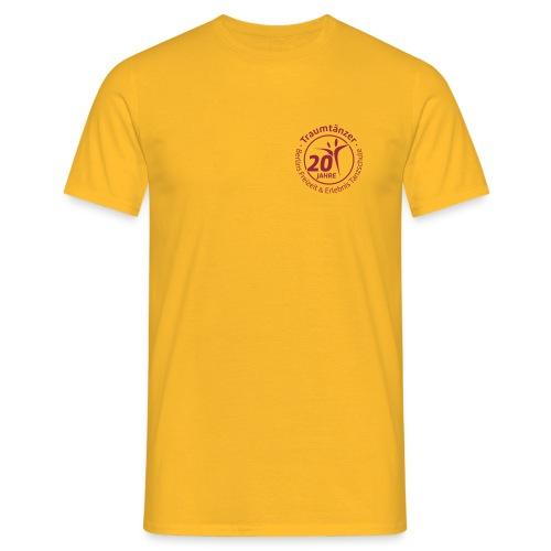 Herren T-Shirt 20 Jahre Traumtänzer - Männer T-Shirt