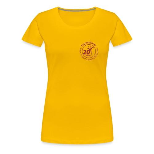 Damen T-Shirt 20 Jahre Traumtänzer - Frauen Premium T-Shirt