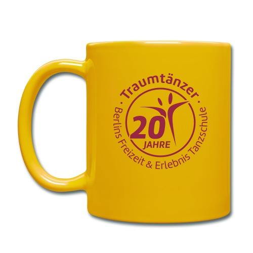 Traumtänzer Tasse 20 Jahre - Tasse einfarbig