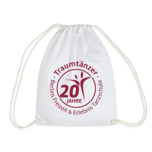 Traumtänzer Sportbeutel 20 Jahre - Turnbeutel