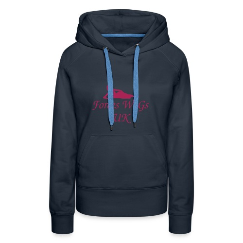 Forces WaGs UK Hoodie  Choice of Colours - Women's Premium Hoodie